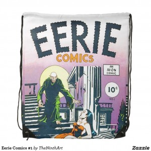 Eerie Comics #1 Drawstring Bag